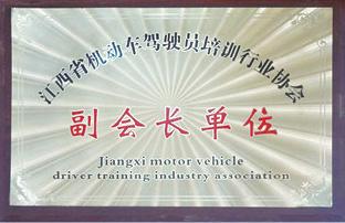 江西省机动车驾驶员培训行业协会副会长单位